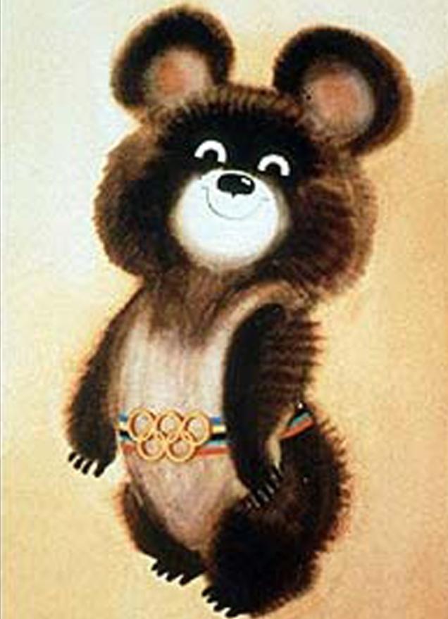 талисманом xxii летних олимпийских игр являлся