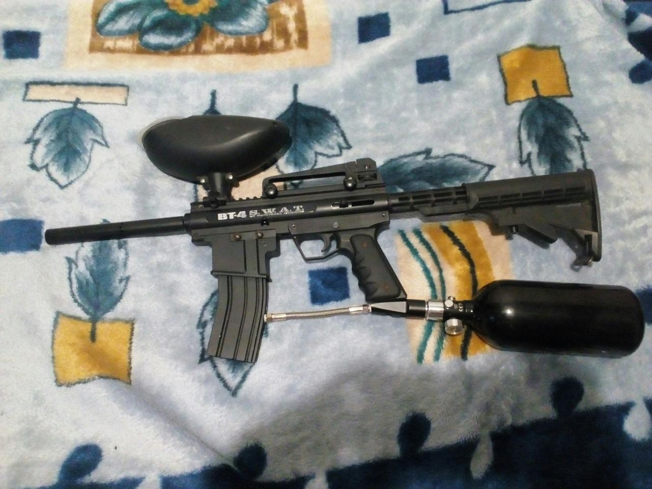оружие для пейнтбола