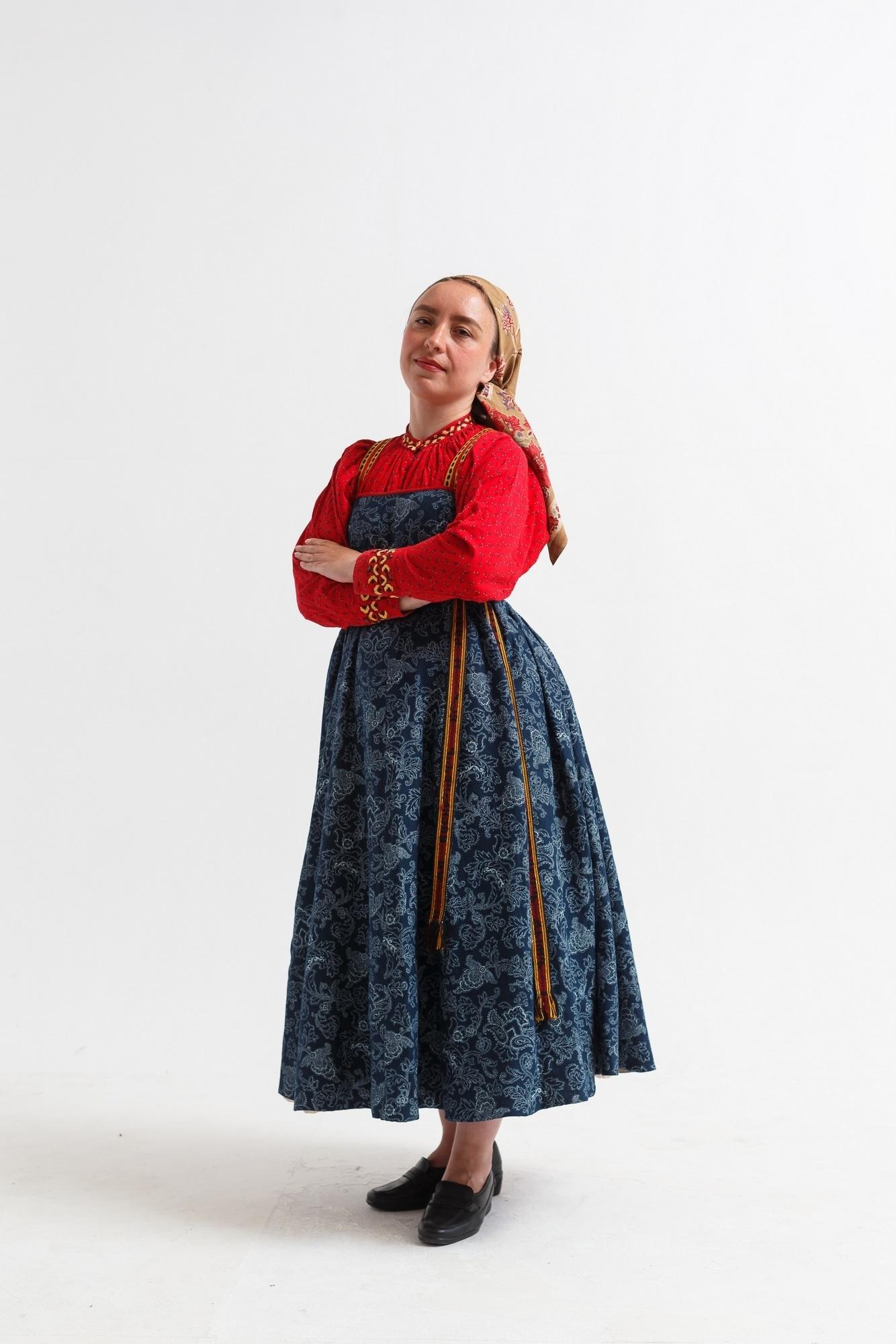 костюм древних славян