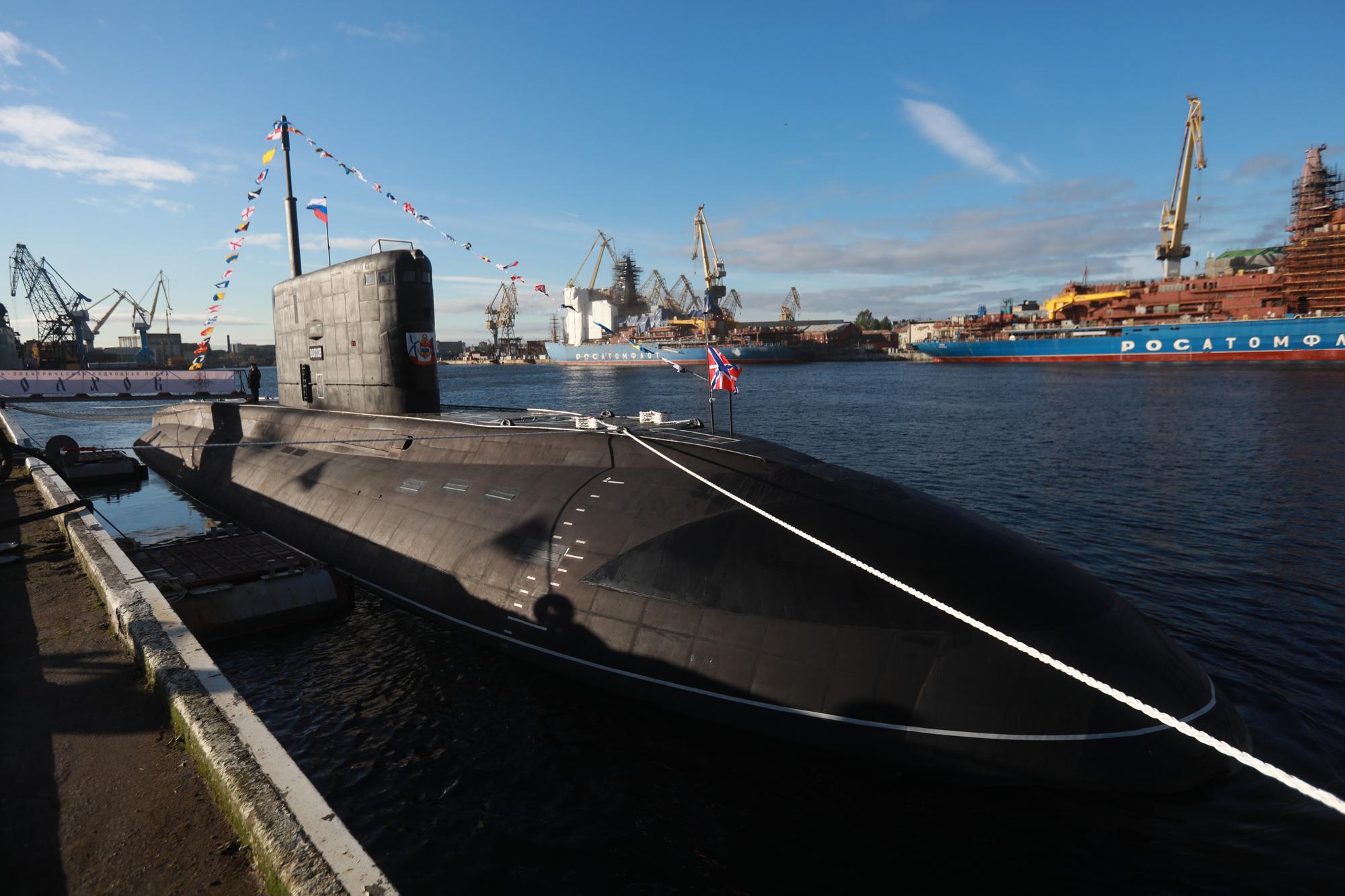 современные подводные лодки россии