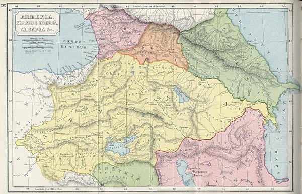 старая карта армении до геноцида