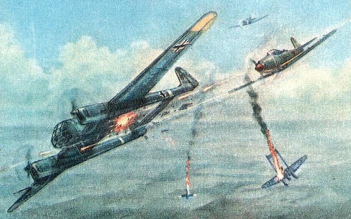 немецкие ассы авиации второй мировой