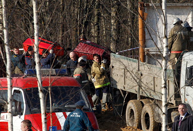качиньский авиакатастрофа