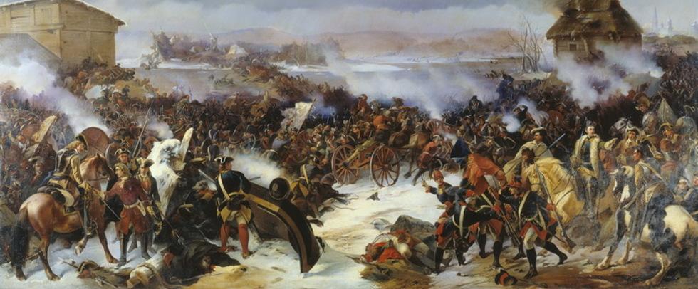 сражение под нарвой 1700