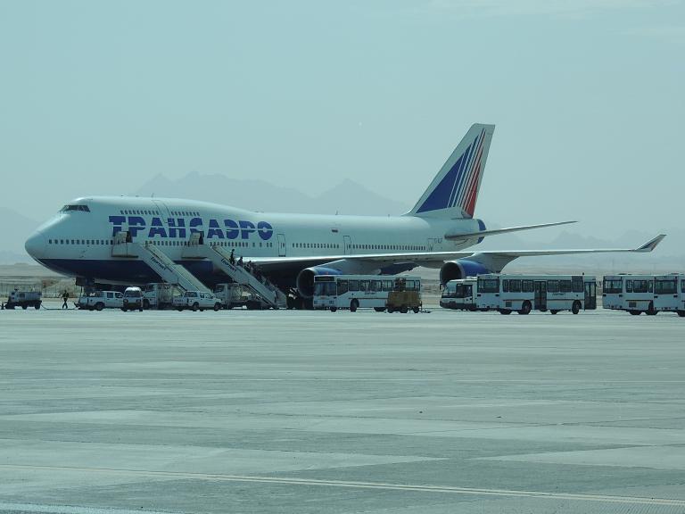 вес боинга 747