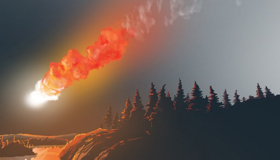диаметр тунгусского метеорита