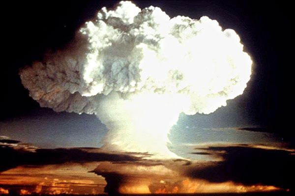 первое испытание водородной бомбы