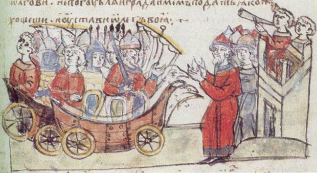 поход олега на киев дата