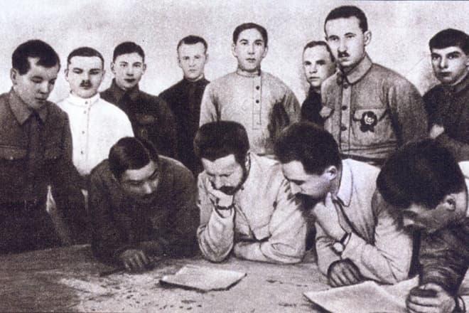 генерал майор и в панфилов командовал