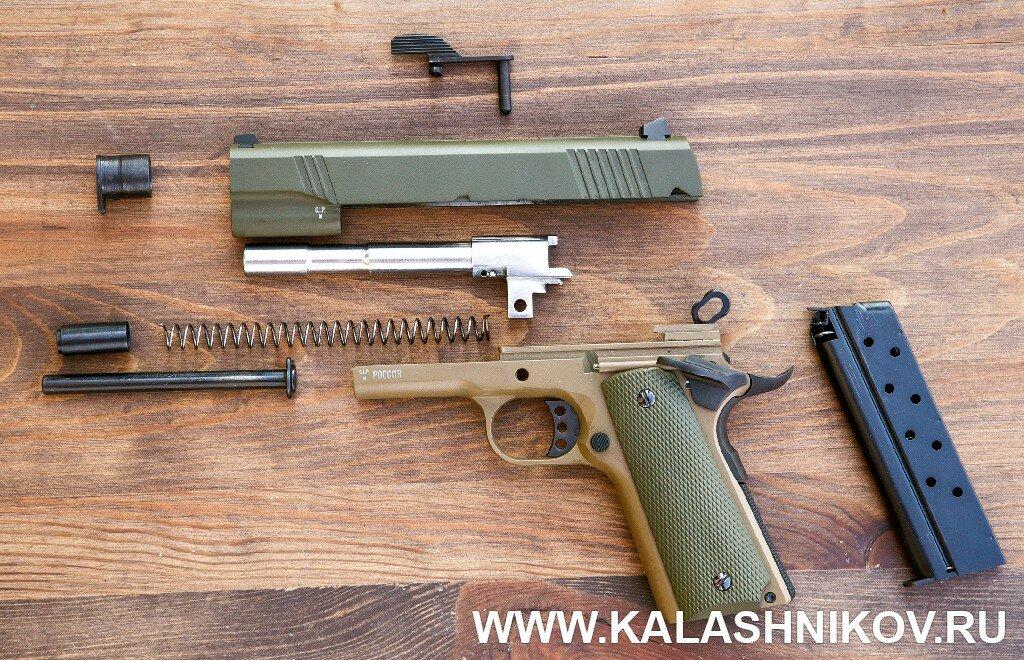 травматический пистолет кольт 1911