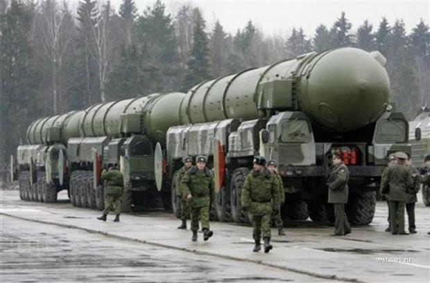 ядерные ракеты россии