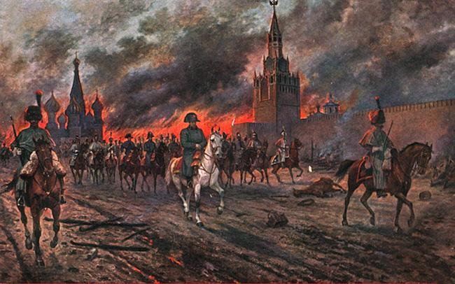 почему наполеон начал войну с россией кратко