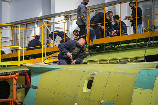 авиастроительный завод казань