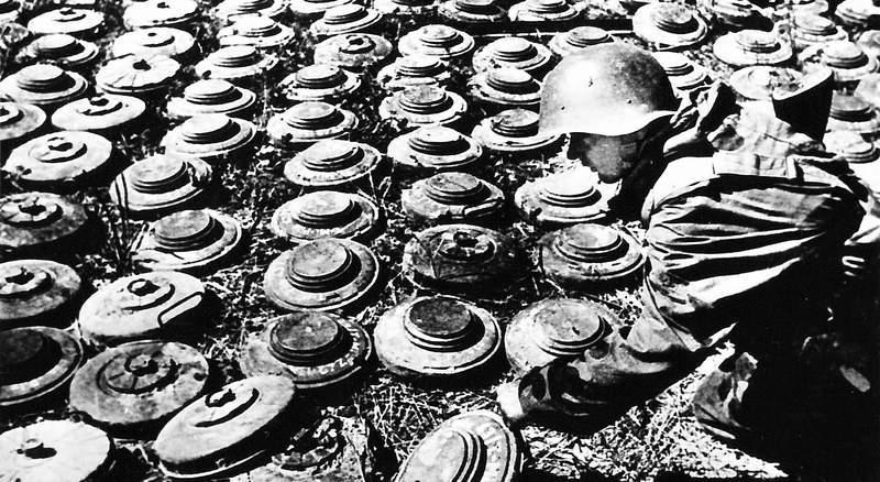 противопехотные мины российской армии