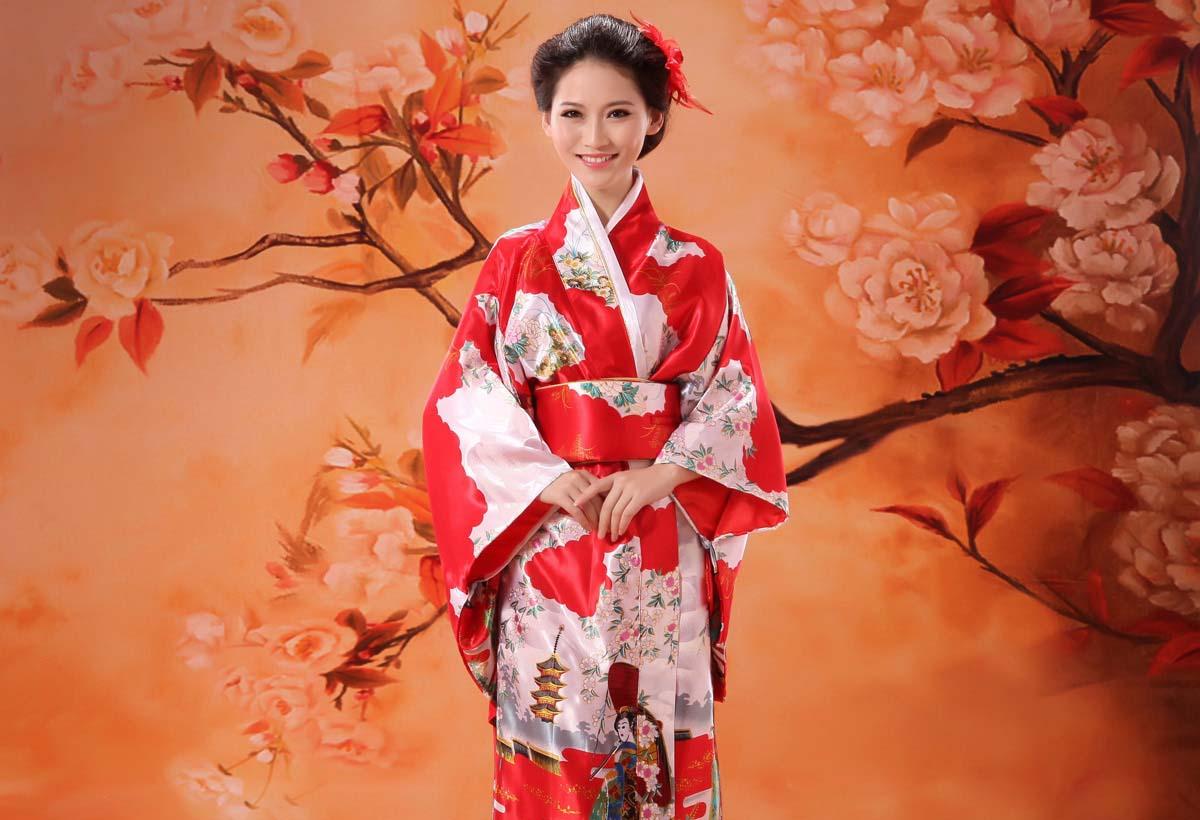 традиционное японское кимоно
