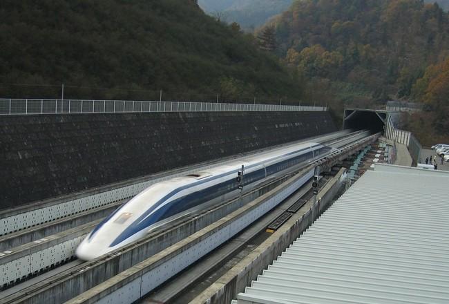 маглев поезд