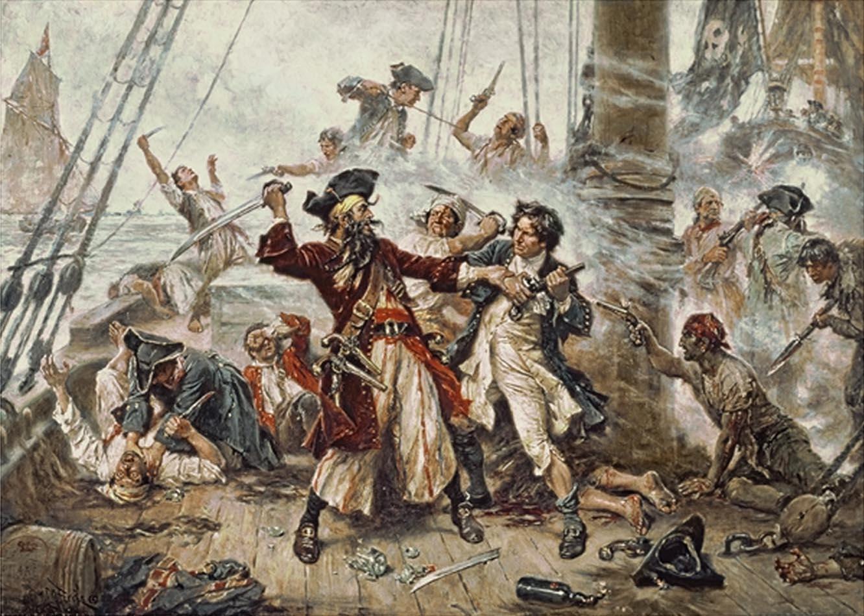 пиратская шхуна