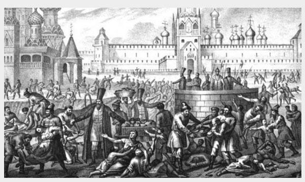 последствия голода 1601 1603