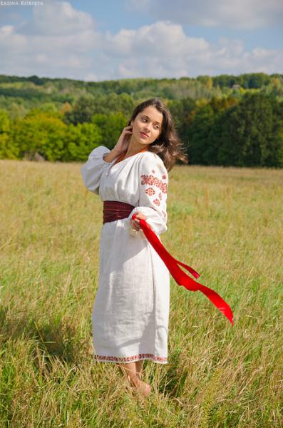 украинский национальный костюм рисунок