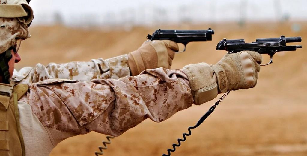 m9 пистолет