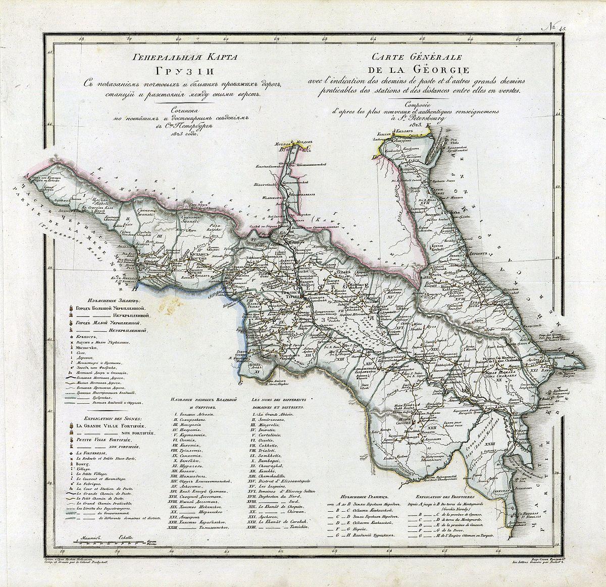 присоединение восточной грузии к россии