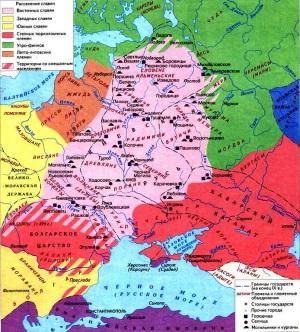 проблема происхождения восточных славян