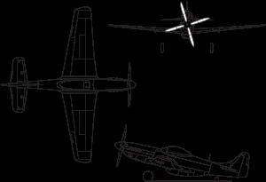мустанг самолет