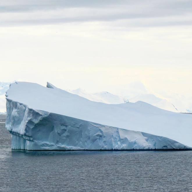 антарктида материк на карте