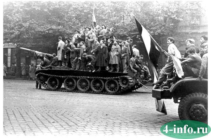 венгерское восстание 1956 года кратко