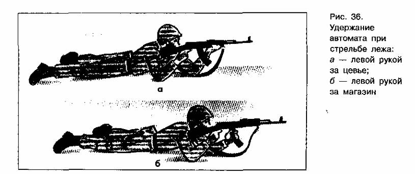 приемы стрельбы из автомата