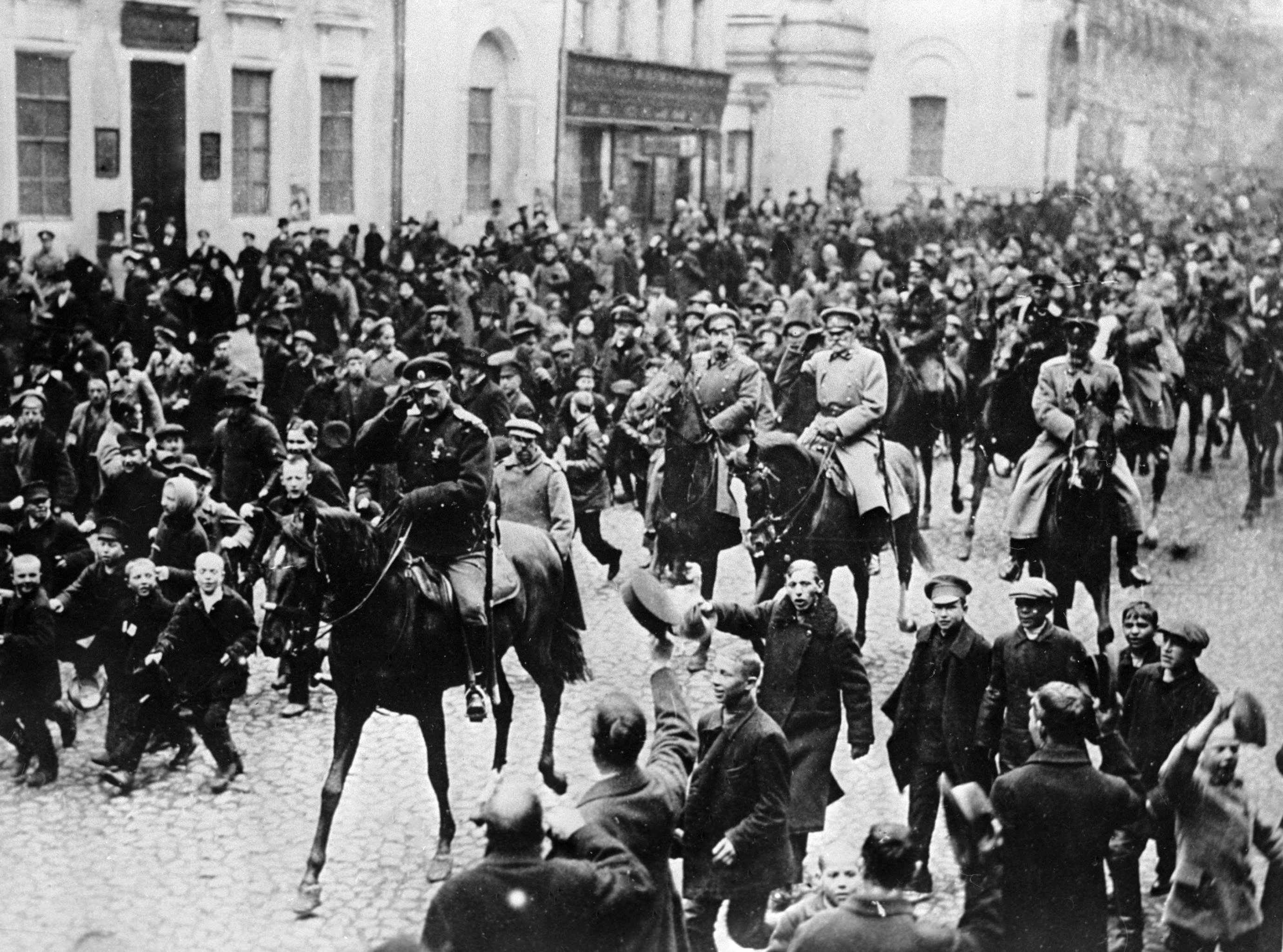 ход февральской революции 1917