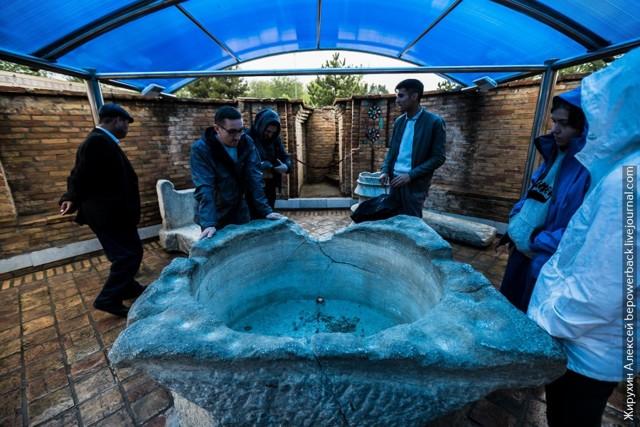 вскрытие могилы тамерлана