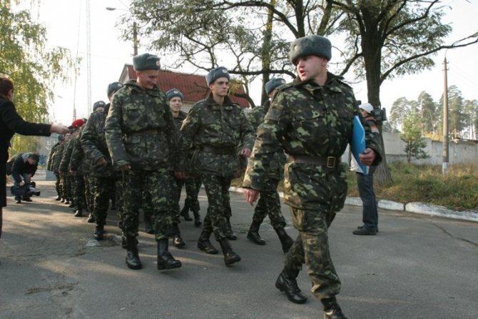 кифосколиоз армия