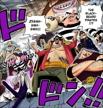 черная борода пират