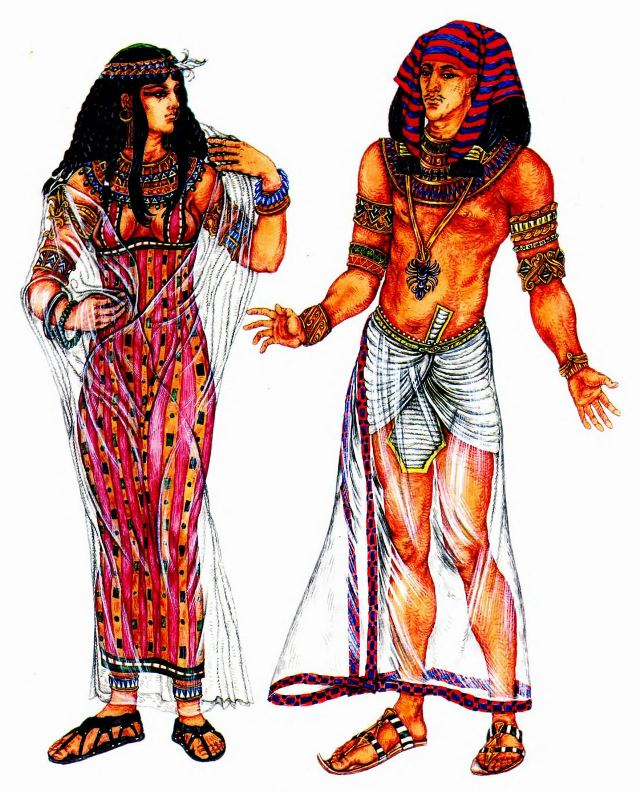 как одевались ремесленники в древнем египте