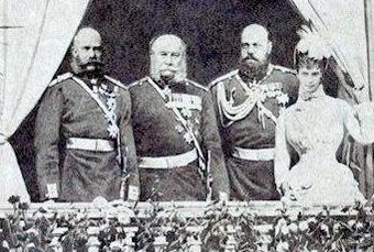 образование союза трех императоров