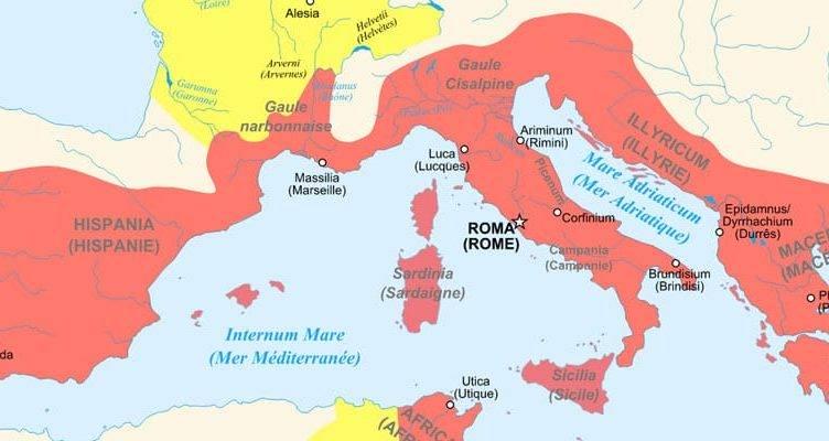 кто разгромил римскую империю