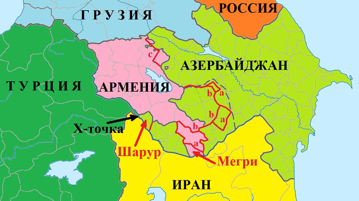 границы армении до 1915