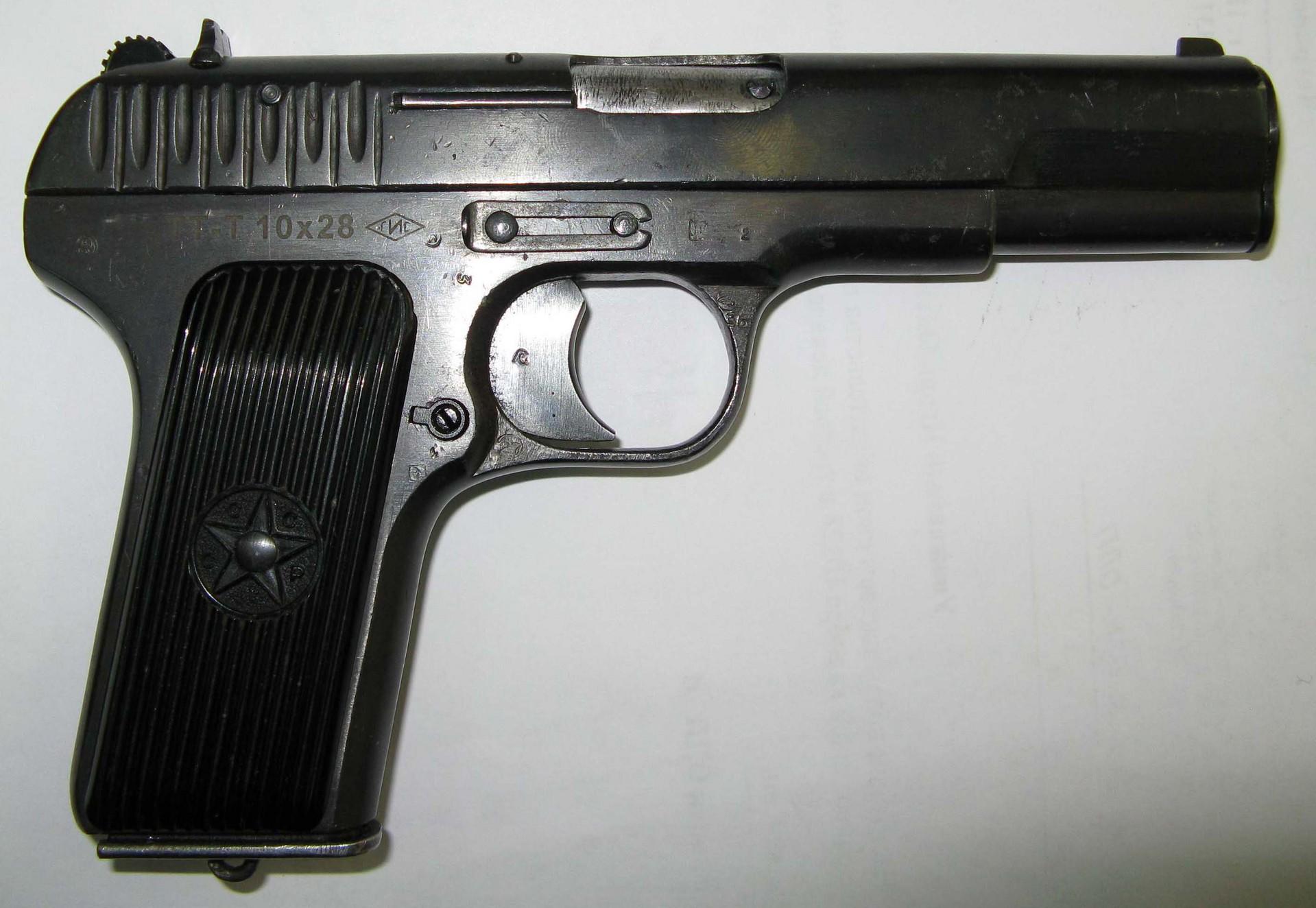 пистолет тт т