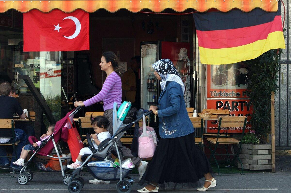 количество турок в германии