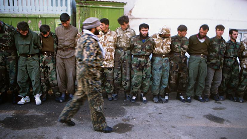 война в таджикистане