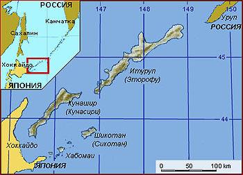 проблема курильских островов