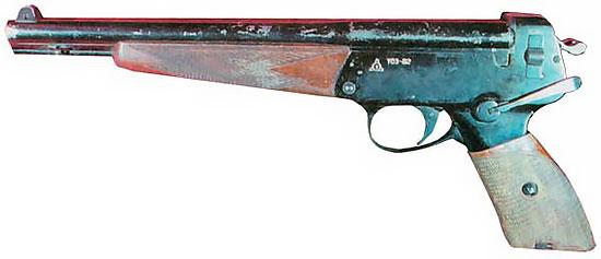оружие космонавтов тп 82