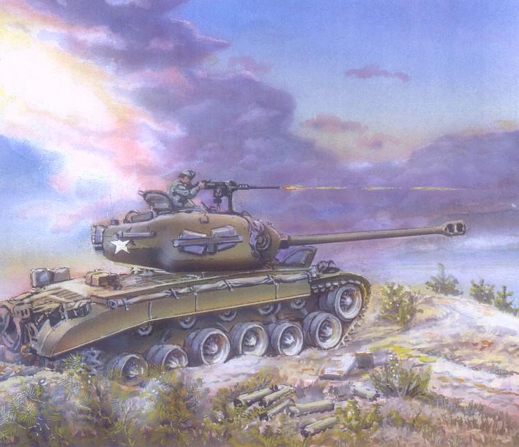 першинг танк