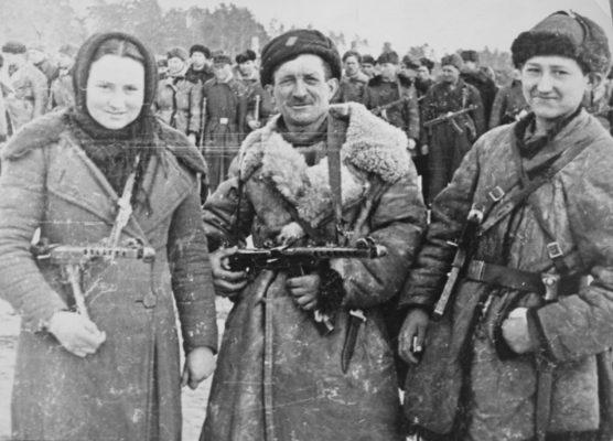 партизаны великой отечественной войны 1941 1945