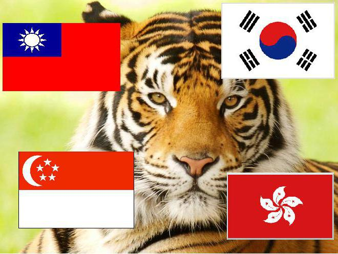 азиатские тигры страны список