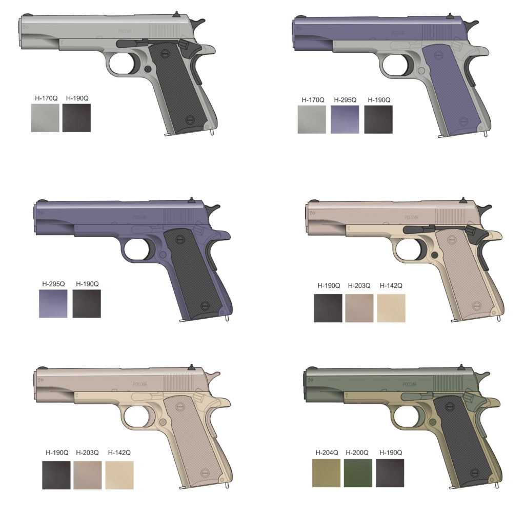 травматический пистолет colt 1911