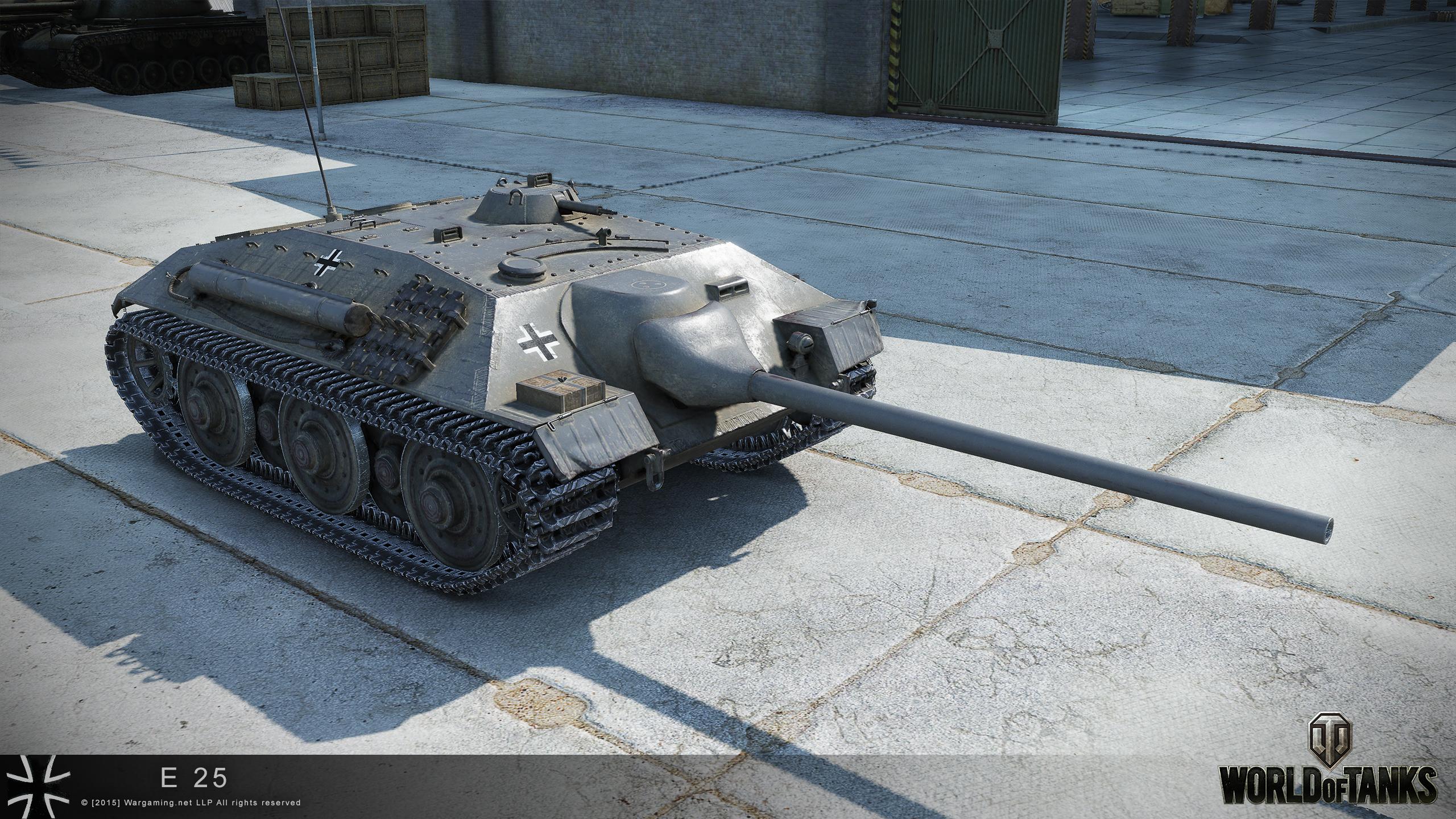 танк е25