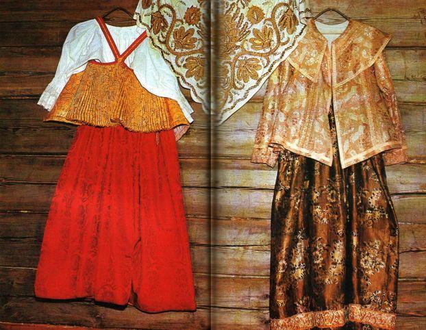 мода древней руси