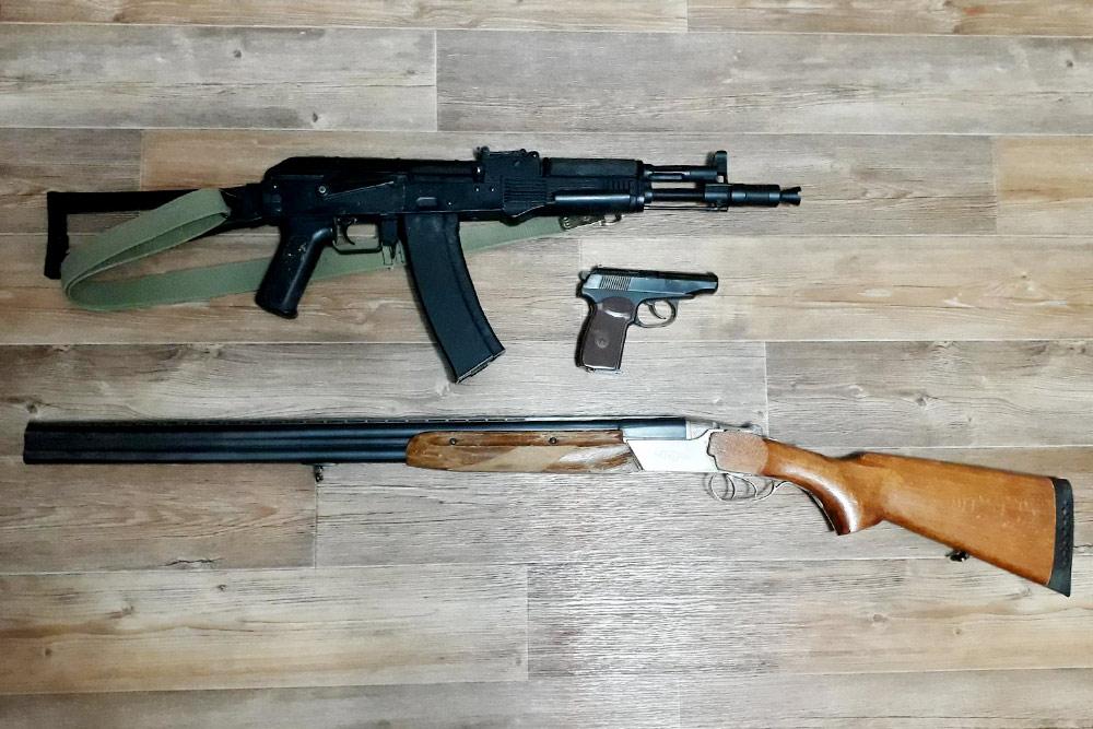 названия оружия в россии